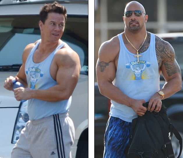 ... : Dwayne Johnson Muscles Before After Wwe Steroids Before And After